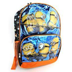 Despicable Me Minions Black 16 inch Backpack Universal Studios http://www.amazon.com/dp/B00LPP9VC2/ref=cm_sw_r_pi_dp_v7rZtb0RS543172V