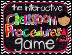 My #1 Back to School Must Have: Classroom Procedures