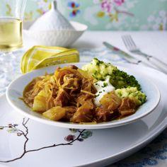 Szegediner Gulasch mit Pute & Ananas Rezept