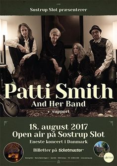 Patti Smith Patti Smith, Event Calendar, First Time, Bands, Musica
