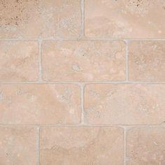 Durango Cream 3x6 Tumbled Tile Stone Backsplash Tiles