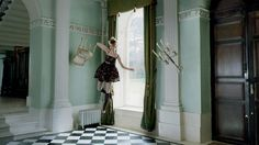 Red Valentino FW 2012 shot by Tim Walker l #levitating #fashion