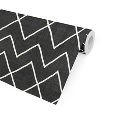 AVOCA BLACK & WHITE Peel and Stick Wallpaper By Becky Bailey - 2ft x 16ft