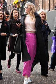 London fashion week A/W 2013 street style gallery - Vogue Australia