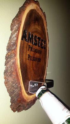 Destapador Abridor De Cerveza Para Pared Tallado - $ 250,00 en MercadoLibre