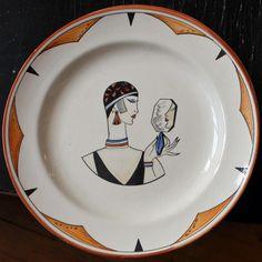 French Hand Made Art Deco Porcelain Dish - Souvenir of Paris EXPO 1937