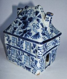 Art Pottery Pottery & Glass Set Of 4 Vintage Delft Blue & White Holland Dutch Windmills Ashtrays More Discounts Surprises