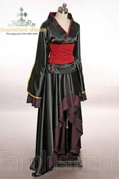 I found 'Catty Gothic Wa Lolita, Japan Kimono/Yukata Set' on Wish, check it out!