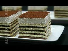 Prajitura fara coacere cu ciocolata si frisca | Adygio Kitchen - YouTube