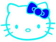 A blue Hello Kitty. ;B