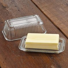 Shop CHEFS Glass Butter Dish at CHEFS.