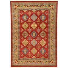 Found it at Wayfair - Heriz Red Area Rug