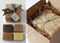 "No. 5 - ""The Modern Man"" - Natural Handmade Soap Gift Box for Guys. $20.00, via Etsy."
