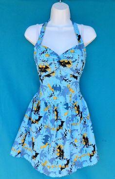 Batman Dress #etsy #geek #clothing