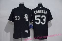 6d6548f3c ... low cost mens chicago white sox 53 melky cabrera black stitched mlb  2016 majestic flex base