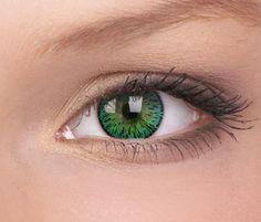Elegance Green Contact Lenses