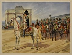 Napoleon at the Tuileries- by Patrice Courcelle
