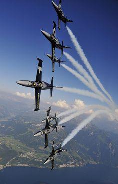 Breitling Jet Team http://www.breitling-jet-team.com/patrouille.html