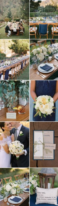 Rachel + Wes, BL Real Wedding, Gorgeous Rustic Elegant Mountain Wedding. Check out link for all vendors: http://www.beaconln.com/blog/