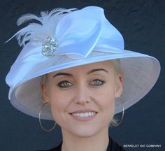 Satin Bow Hat for the Kentucky Derby