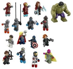 LEGO Marvel Avengers Age of Ultron Minifigures