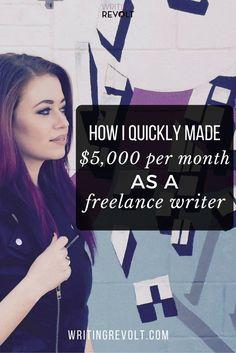 Writing for money online uk