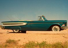 Car / Auto - Ford Edsel Citation (The Year- 1958), Classic Automobile Convertible
