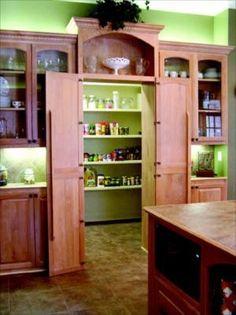 hidden walk-in pantry by eloise