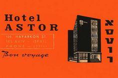 Hotel Astor Luggage Label