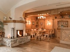 Cosy Fireplace, Chalet Style, Country Hotel, Austria, Relax, Traditional, Room, Travel, Ideas