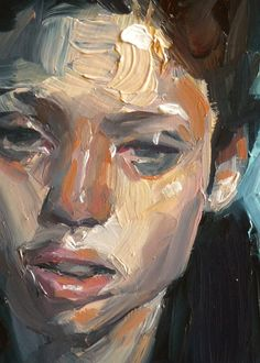 """Toil"" (close-up), John Larriva art"