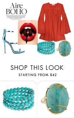 """""""True boho in heart."""" by amrinjo ❤ liked on Polyvore featuring Rachel Zoe, Lonna & Lilly and Ippolita"""