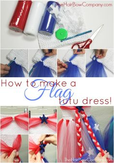 Fourth of July Flag Dress