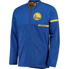 Men's Golden State Warriors adidas Royal 2016 On-Court Jacket