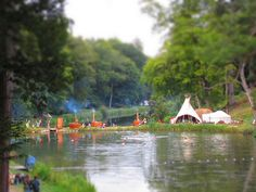 Wilderness Festival- Cornbury Park in Oxfordshire, a 1,700 acre estate with lakes, woodland and parkland