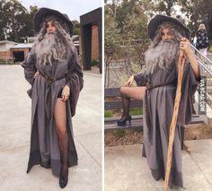 Sexy Gandalf costume