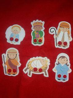 ¿Cómo hacer marionetas de dedo navideñas para niños?