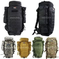 60l military #rifle gun #package rucksacks #backpacks camping hiking trekking bag,  View more on the LINK: 	http://www.zeppy.io/product/gb/2/131642599700/