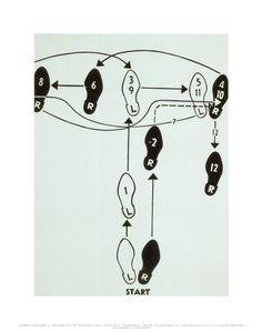 Dance Diagram, c.1962 (Tango)