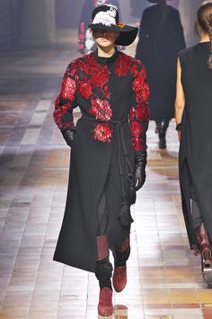 Now, THIS Is Why We Go To Paris Fashion Week #refinery29  http://www.refinery29.com/2015/03/83405/lanvin-paris-fashion-week-fall-2015#slide-5