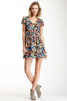 Eight Sixty Short Sleeve Split Back Dress by Non Specific on @HauteLook