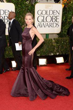 Celebrities en la alfombra roja de la 70 edición de los Globos de Oro: Taylor Swift