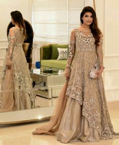 Shiza Hassan, Pakistani couture - Women Dresses for Every Age! Pakistani Couture, Pakistani Bridal Wear, Pakistani Wedding Dresses, Pakistani Dress Design, Pakistani Outfits, Indian Dresses, Bridal Lehenga, Indian Couture, Stylish Dresses