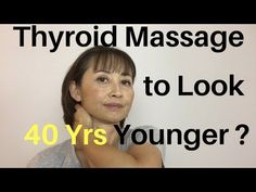 Thyroid Massage to Look 40 Years Younger? I came across the beauty secrets of Ninon de L'Enclos who was said to look like 30 when she was 70 in the century. One of her secrets was her daily routine of this thyroid and face massage. Technique Massage, Massage Techniques, Sante Bio, Facial Yoga, Facial Cupping, Facial Cleanser, Face Exercises, Face Massage, Thyroid Health