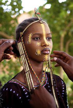 Fulani makeup
