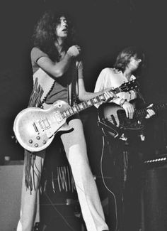 Led Zeppelin • 1969                                                         Jimmy Page & JP Jones