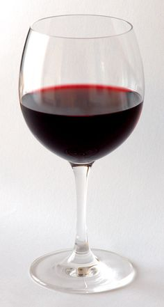 Red wine...because nothing de-stresses me better than a glass of this mixed with my husband's company. <3