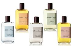 The 'Cologne Absolue' collection by Atelier Cologne.