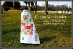 Happy Weekender QuiltTutorial on the Moda Bake Shop. http://www.modabakeshop.com