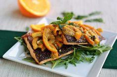 Orange Mint Salmon